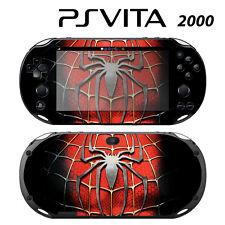 Sony PS Vita Slim 2000 Skin Decal Sticker Vinyl Wrap Spiderman Super Hero