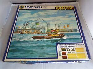 Triang Minic Ships Quayside Set