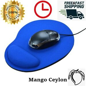 Comfortable Silicone Soft Mouse Pad With Wrist Rest Support Mat For Gaming PC