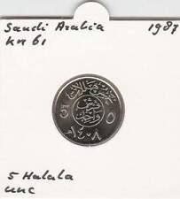 Saudi-Arabië 5 halala 1987 UNC - KM61 (mk022)