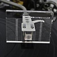 Vinyl Record Player Measuring Phono Tonearm VTA Azimuth Ruler 10 mm Holder Level