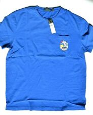 Polo Ralph Lauren 1967 Shirt Graphic Tee Blue Regatta Sailing Fast Ship