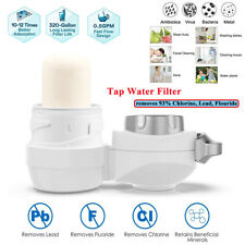 Faucet Water Filter for Kitchen Sink Mount Filtration Purifier Fit Standard Tap