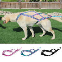 X-Back Dog Sled Weight Pulling Training Harnesses Nylon Adjustable Reflective XL