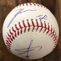 Yusei Kikuchi Dual Signed Kanji MLB Baseball Autographed Mariners RC PSA/DNA COA