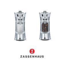 """Zassenhaus - Macinapepe """" Aquisgrana """" 14 cm, acciaio inox/acrilico"""