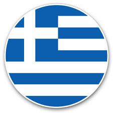 2 x Vinyl Stickers 25cm - Greece Greek Flag Cool Gift #9046
