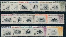 Falkland Islands 1960 Birds SG 193-207 MM