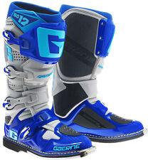GAERNE SG12 MX BOOTS BLUE, SG12 BLUE, MOTOCROSS, ENDURO, TRAIL & OFF ROAD BOOTS