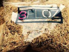 "3 Bags New Zealand Sphagnum Moss 3-8"" Loose Long Fiber Orchid Planting media 3oz"