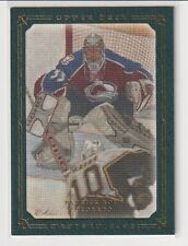 08/09 UD MASTERPIECES PATRICK ROY GREEN BORDER SP PARALLEL /99 #7