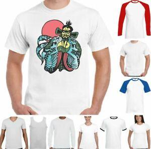 Fu Manchu T-Shirt Big Trouble in Little China Kung Fu MMA Gym Training Top