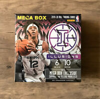 2019 - 2020 Panini Illusions Basketball NBA Mega Box Factory Sealed