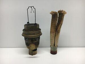 Vintage Aladdin Model B Complete Oil Lamp Burner Assembly with Original Wick