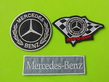MERCEDES BENZ  PATCH KIT 4TOPPE RICAMATE TERMOADESIVE