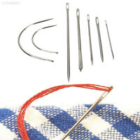 E5CF 7x Stainless Hand Upholstery Sewing Needles Carpet Curved Canvas Kits Packs