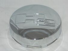 HUMMER H2 LOGO 8 LUG REPLACEMENT CHROME CENTER CAP FRONT SNAP IN 3181 AEWC