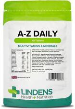 Multivitamin A-Z Daily x 90 Tablets; Multivitamins & Minerals; Lindens