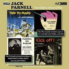 Two Classic Albums Plus Two Ep's (Trip To Mars / Jack Parnell Selection / Parnel