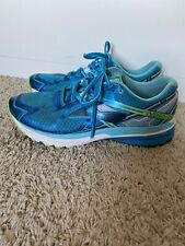 Brooks Ravenna 7 Women's Athletic Running Shoes Size 10 Teal Neon Green Blue