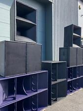 EAW MQ 1 366-WP MID/HIGH SPEAKERS (PAIR) NOT TURBOSOUND/F1/MARTIN AUDIO