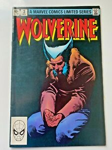 Marvel Comics Wolverine #3 (1982) Comic Book