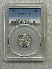 1941 S Mercury Dime PCGS MS 65 ~~ Excellent Specimen ~~  (132)