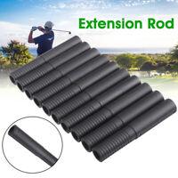 10Pcs Golf Club Steel Shaft Extension Rod Extender Sticks Tools Putters