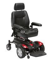 Drive Titan Power Chair – Electric Wheelchair – X2 35AH Batteries  *Brand New*
