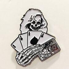 DEATH DEALER Samhain Metal Enamel Pin Misfits Danzig punk metallica horror