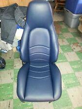 PORSCHE 911 951 SPORT SEAT KIT NEW UPHOLSTERY BLUE KIT GERMAN VINYL BEAUTIFUL
