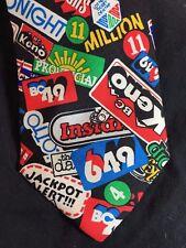 LOTTO BC Canada Neck Tie - 649 Keno Galaxy Bingo Provincial Men Necktie