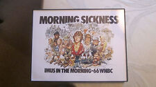 HOWARD STERN/DON IMUS WNBC REPRINT POSTER FROM THE 1980'S 8.5 X 11