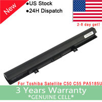 New For Toshiba PA5185U-1BRS PA5186U-1BRS PA5184U-1BRS C55 C55D Laptop Battery