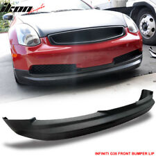 03-07 Fit For Infiniti G35 G Style Front Bumper Lip Urethane