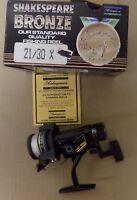 Shakespeare Bronze 21/30x ProAmX 4/290 6/180 8/130 Spinning Reel Vintage NIB