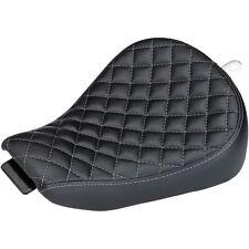 Biltwell Inc. Black Checkerboard Sporty-8 Seat for 10-14 Harley Sportster