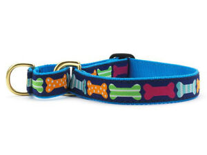 Dog Puppy Martingale Collar - Up Country - Made In USA - Big Bones - S, M, L, XL