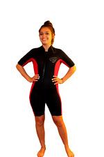 6X Shorty Wetsuit - Front Zip Off Style - Women's or Shorter Men - 2200