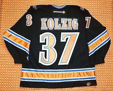 Washington Capitals, #37 Olaf Kolzig NHL Vintage KOHO Jersey, Mens XXL, SEWN