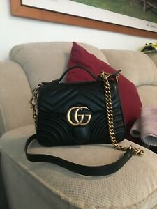 Gucci mini top handle bag