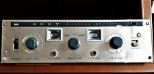 Raro:SONY SRA-2 pre-amplificatore di registrazione a VALVOLE-Recording Amplifier