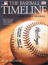 The Baseball Timeline (DK American Original)-ExLibrary