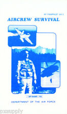 Air Force Aircrew Survival Manual AF 64-5 fox 59-46