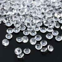 2000Pcs 4.5mm Acrylic Diamond Confetti Wedding Decor Supplies Table Scatter