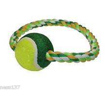 Jouet pour Chien Corde Epaisse avec Balle de Tennis