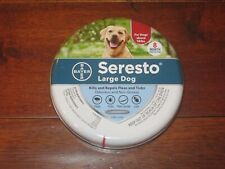 Seresto Flea and Tick Collar for Dogs, 8-Month Flea and Tick Collar for Lg Dog