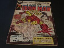 1975 THE INVINCIBLE IRON MAN #42 IN FRENCH EDITIONS HERITAGE CANADA