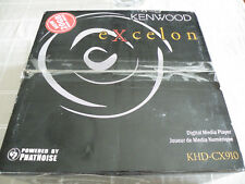 KENWOOD NEW KHD-CX910 20GB Exceleon Music Keg PHATNOISE Digital Music Player