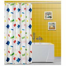 Feridras - Tenda doccia Multicolore con Ganci in Vinile 240x200cm